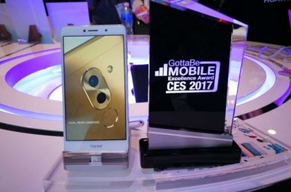 CES 2017: Deset nagrada za Honor 6X