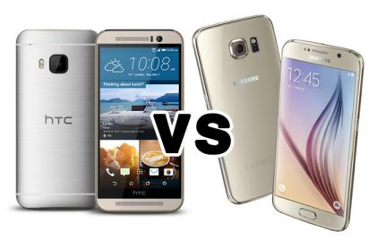 DUEL: HTC One M9 vs Samsung Galaxy S6
