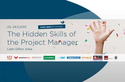 Early bird prijave na seminar The Hidden Skills of the Project Manager