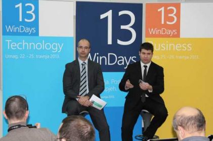 Microsoft Hrvatska predstavio program WinDays13