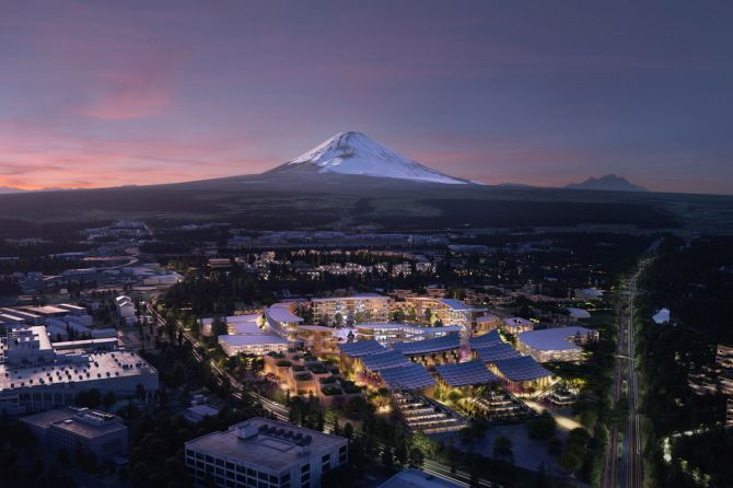 CES 2020: Toyota and BIG To Build A Prototype Future City In Japan
