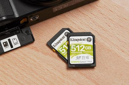 Kingston obnovio asortiman microSD i SD kartica s dodatkom Canvas Select Plus